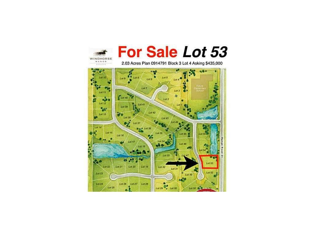 MLS® #C3586227 - 35 Windhorse Gr in Springbank Rural Rocky View County, Land