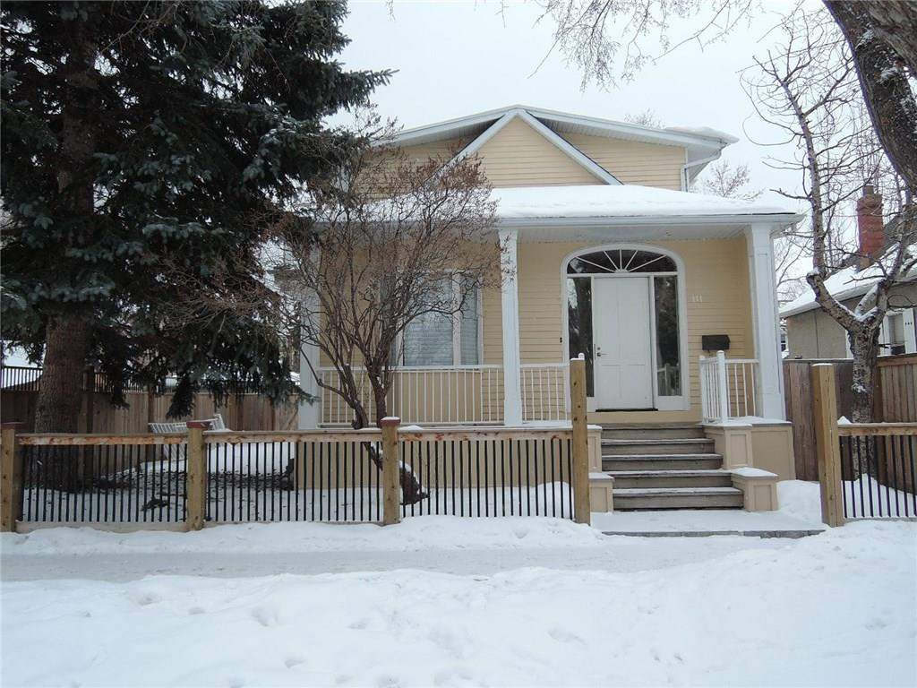 MLS® #C4162080 - 111 7 ST Nw in Sunnyside Calgary, Detached