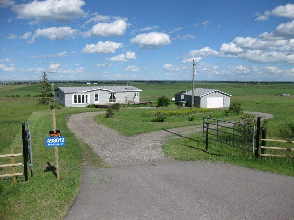 MLS® #C4165028 - 498012 Meridian St in None Rural Foothills M.D., Detached
