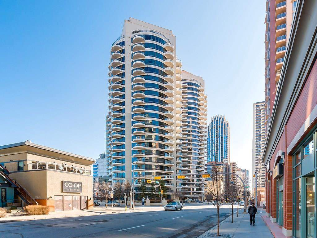 MLS® #C4165308 - #1702 1088 6 AV Sw in Downtown West End Calgary, Apartment