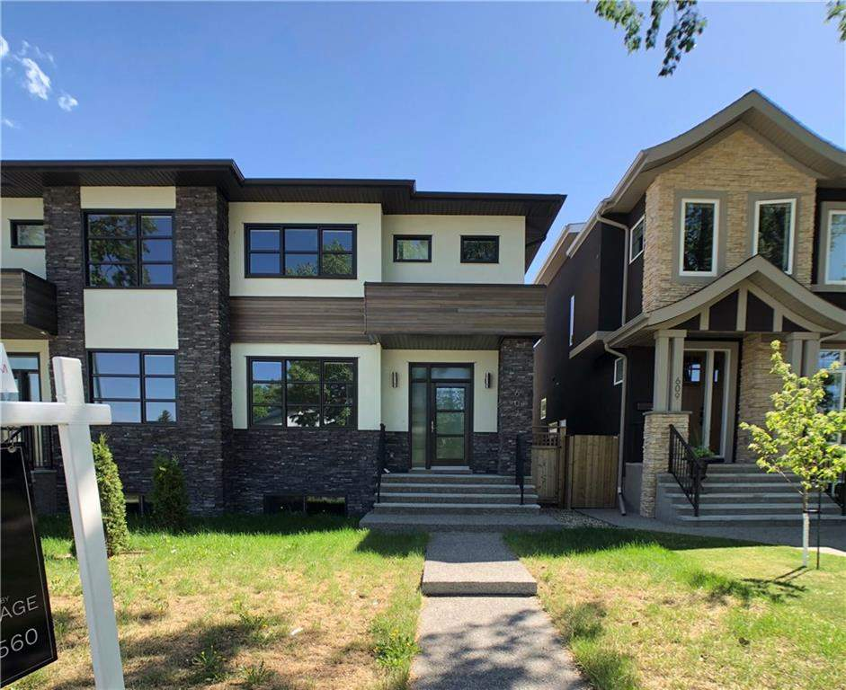 MLS® #C4167534 - 607 22 AV Nw in Mount Pleasant Calgary, Attached