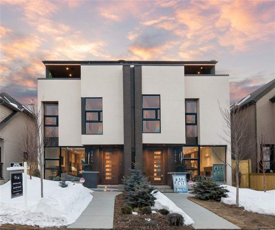 MLS® #C4175976 - 3813 1a ST Sw in Parkhill Calgary, Attached Open Houses