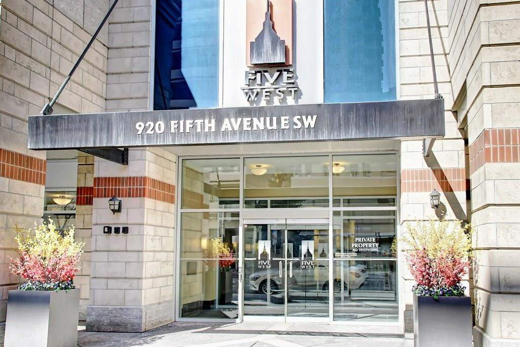 MLS® #C4178198 - #1801 920 5 AV Sw in Downtown Commercial Core Calgary, Apartment Open Houses