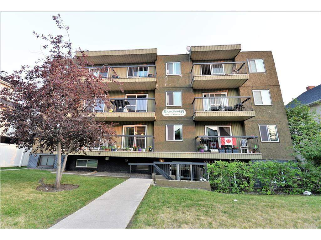 MLS® #C4185721 - #102 1613 11 AV Sw in Sunalta Calgary, Apartment Open Houses