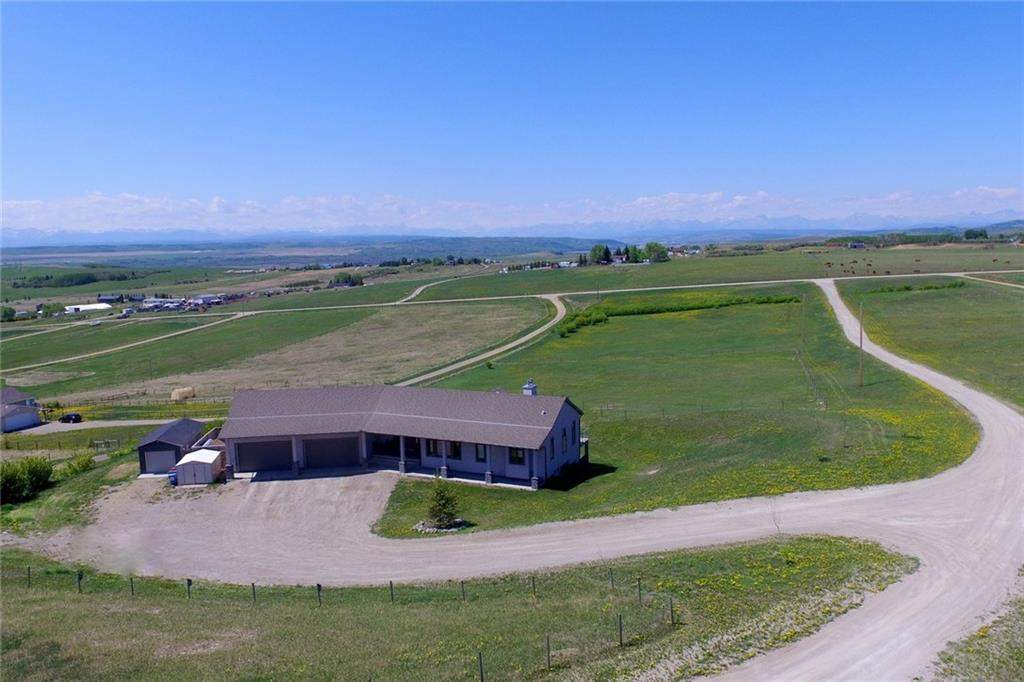 MLS® #C4186662 - 263120 Rge RD 43 in None Rural Rocky View County, Detached Open Houses