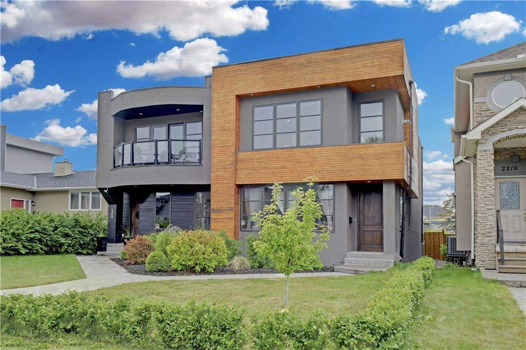 MLS® #C4187123 - 2215 32 AV Sw in Richmond Calgary, Attached Open Houses