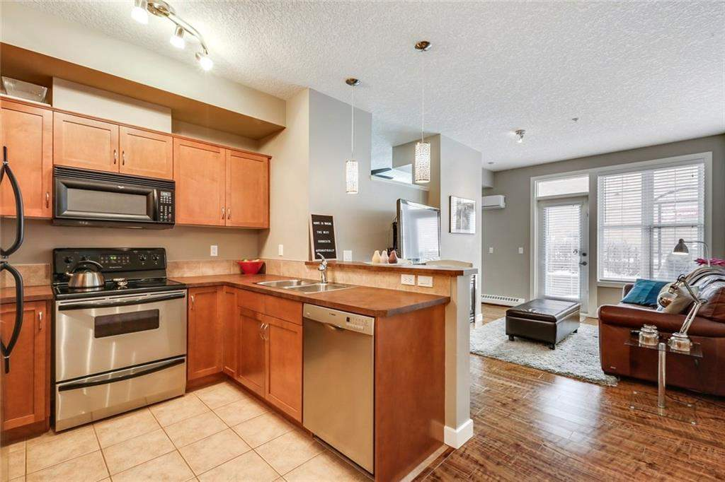 MLS® #C4188315 - #117 208 Holy Cross Ln Sw in Mission Calgary, Apartment Open Houses