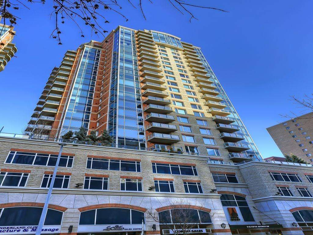 MLS® #C4188889 - #2602 910 5 AV Sw in Downtown Commercial Core Calgary, Apartment Open Houses