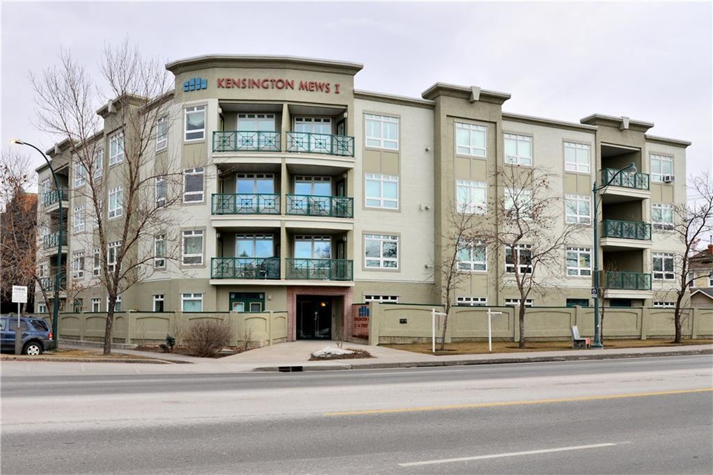 MLS® #C4213612 - #201 2 14 ST Nw in Hillhurst Calgary, Apartment Open Houses
