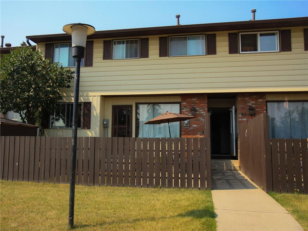 MLS® #C4218172 - #61 175 Manora PL Ne in Marlborough Park Calgary, Attached Open Houses