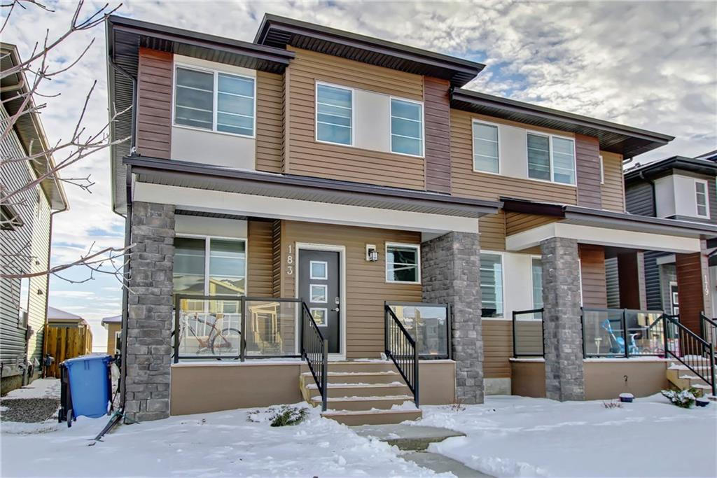 MLS® #C4219501 - 183 Cornerstone AV Ne in Cornerstone Calgary, Attached Open Houses