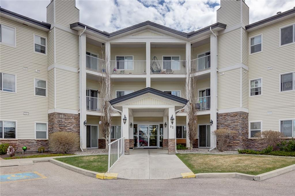 MLS® #C4220450 - #208 72 Quigley Dr in West Valley Cochrane, Apartment Open Houses