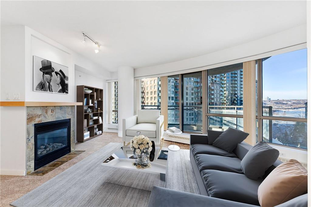 MLS® #C4222756 - #905 1088 6 AV Sw in Downtown West End Calgary, Apartment Open Houses