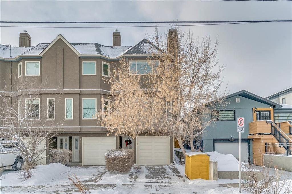 MLS® #C4225299 - #5 1423 1 ST Nw in Crescent Heights Calgary, Attached Open Houses