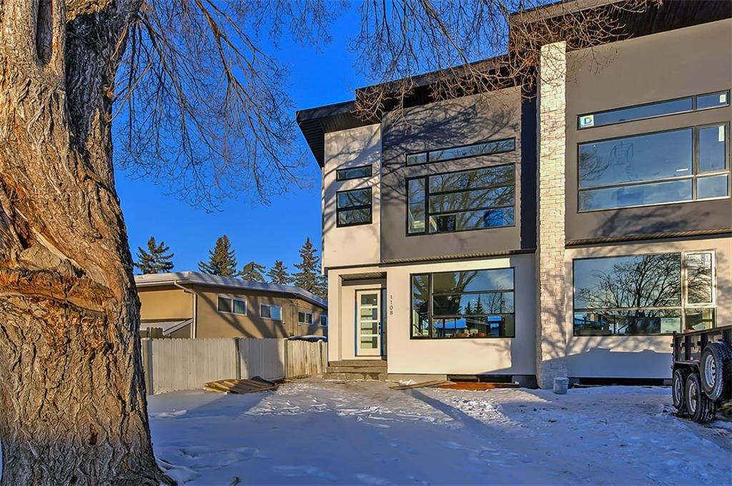 MLS® #C4232012 - 1108 43 ST Sw in Rosscarrock Calgary, Attached Open Houses