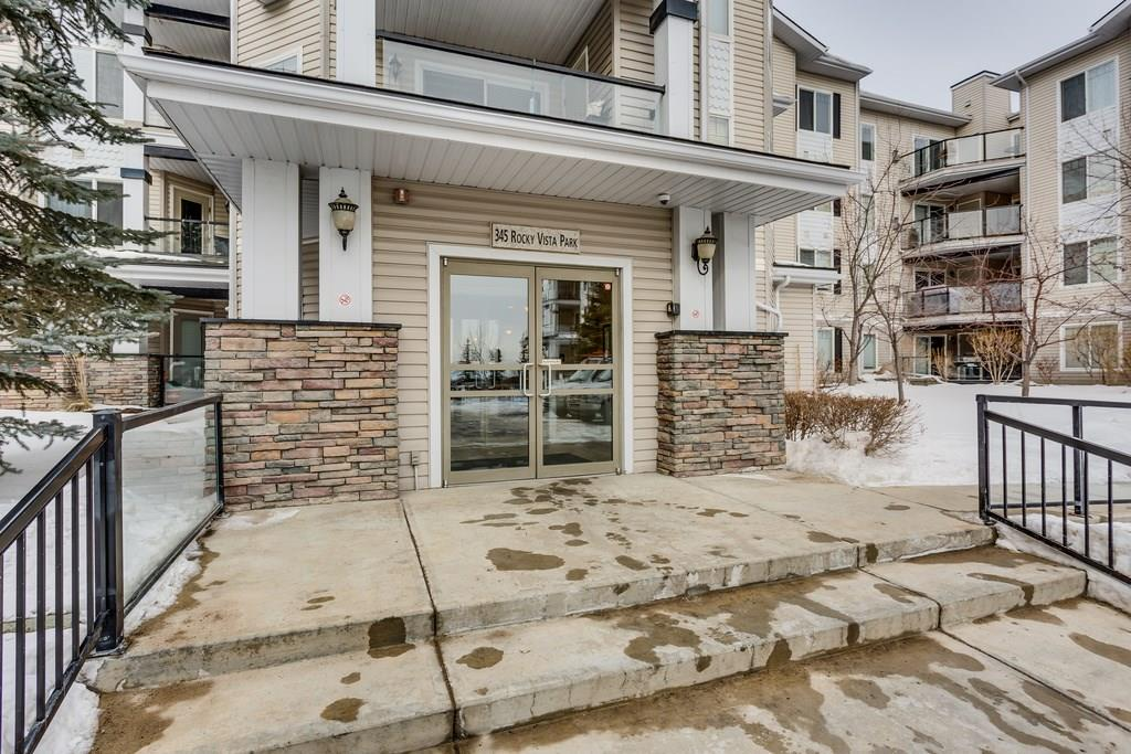 MLS® #C4232477 - #411 345 Rocky Vista Pa Nw in Rocky Ridge Calgary, Apartment Open Houses
