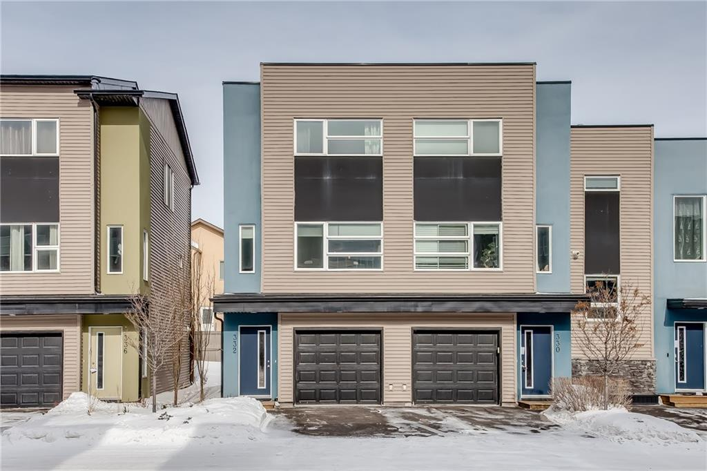 MLS® #C4232574 - #332 Covecreek Ci S in Coventry Hills Calgary, Attached Open Houses