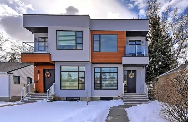 MLS® #C4233207 - 207 23 AV Nw in Tuxedo Park Calgary, Attached Open Houses