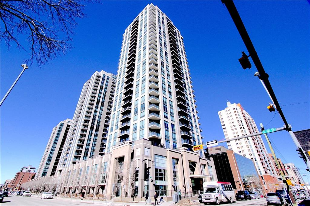 MLS® #C4233440 - #1608 1111 10 ST Sw in Beltline Calgary, Apartment Open Houses