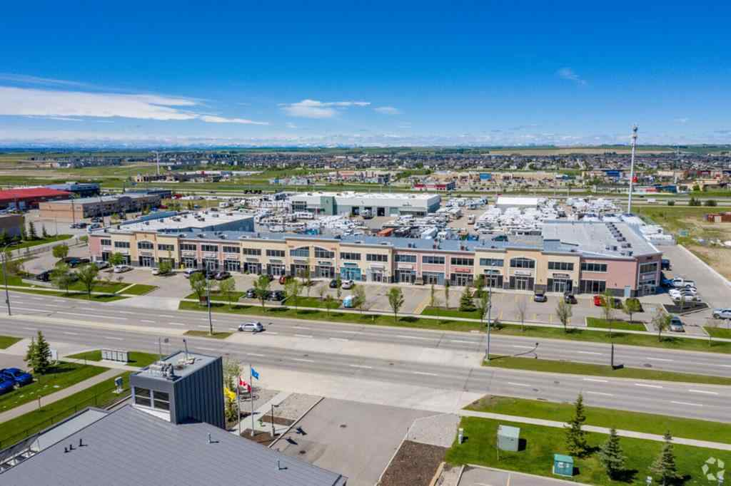 MLS® # A1012836 - Unit #401 & 402 2903 KINGSVIEW Boulevard SE in Kingsview Industrial Park Airdrie, Commercial Open Houses