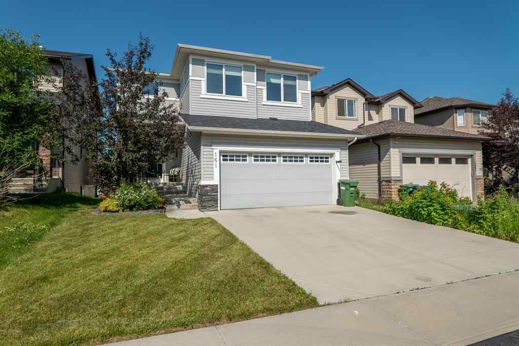 MLS® # A1017516 - 161 Prairie Springs Crescent  in Prairie Springs Airdrie, Residential Open Houses