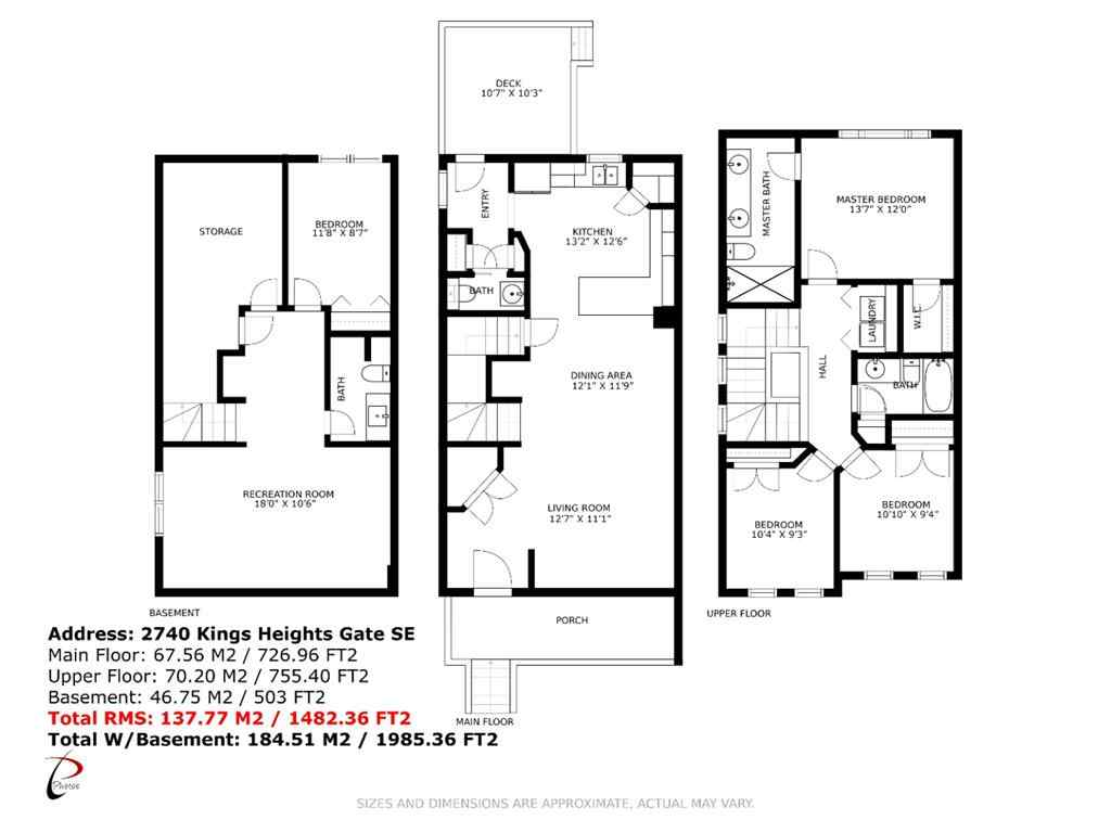 MLS® # A1030801 - 2740 KINGS HEIGHTS  Gate SE in Kings Heights Airdrie, Residential Open Houses