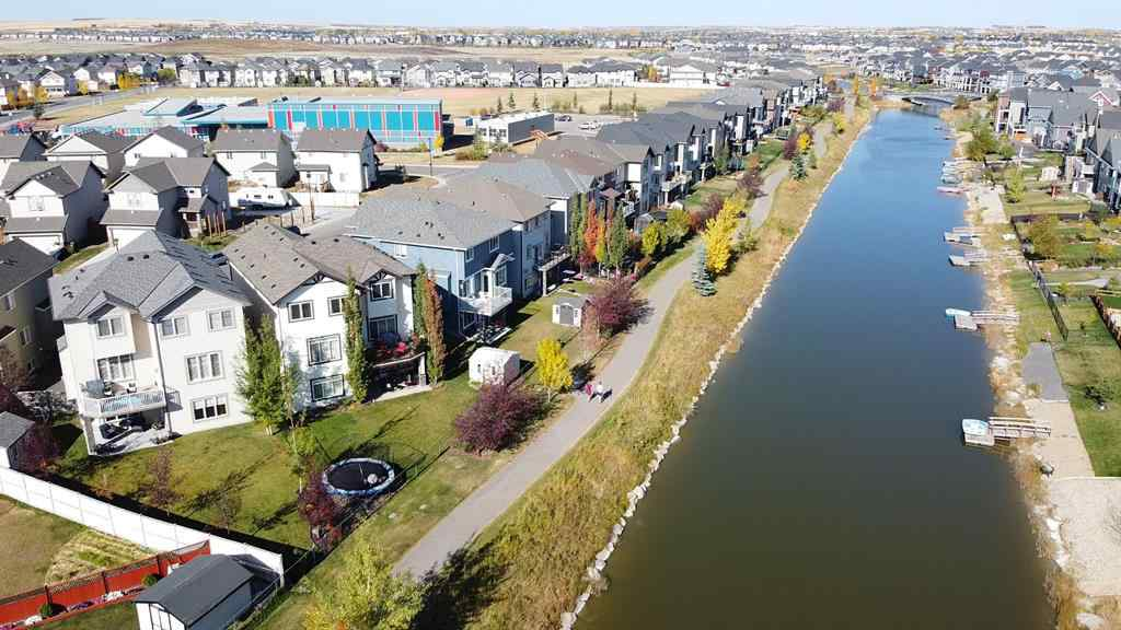 MLS® # A1038029 - 1854 Baywater Street SW in Bayside Airdrie, Residential Open Houses
