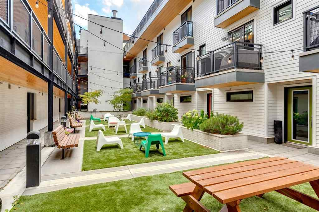 MLS® #A1038303 - Unit #129 1719 9A Street SW in Lower Mount Royal Calgary, Residential Open Houses