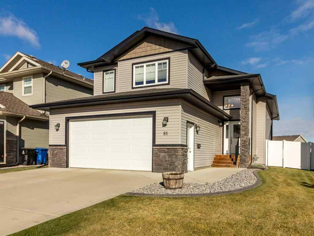 MLS® # A1042700 - 81 Churchill Place  in Cottonwood Estates Blackfalds, Residential Open Houses
