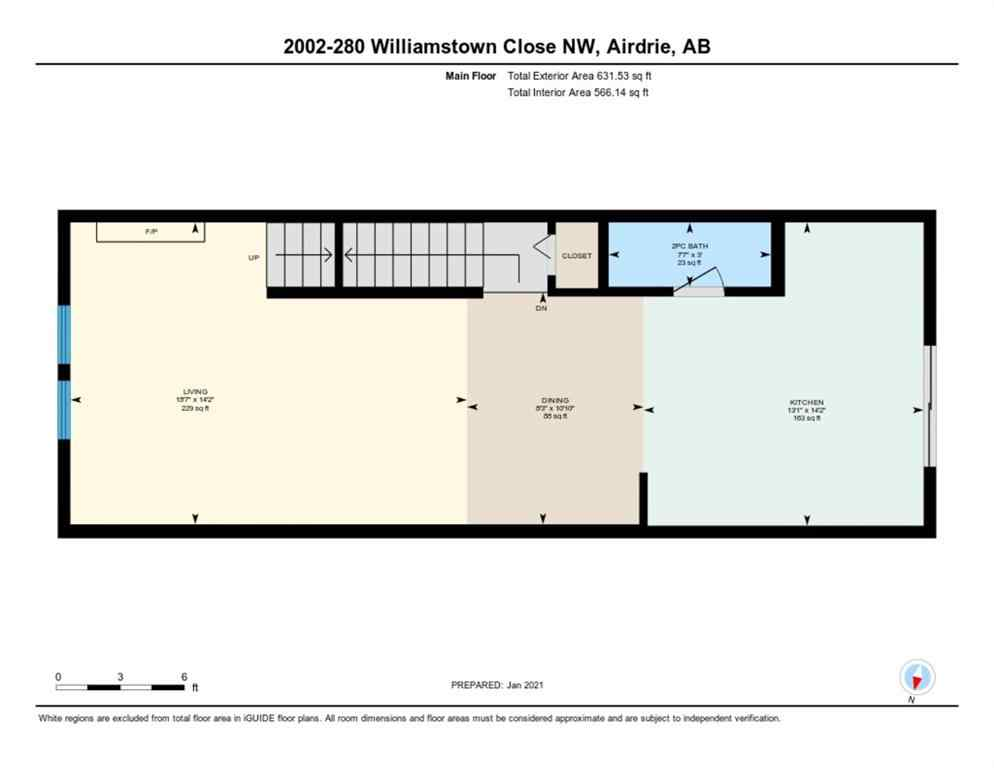 MLS® # A1061153 - Unit #2002 280 Williamstown Close NW in Williamstown Airdrie, Residential Open Houses