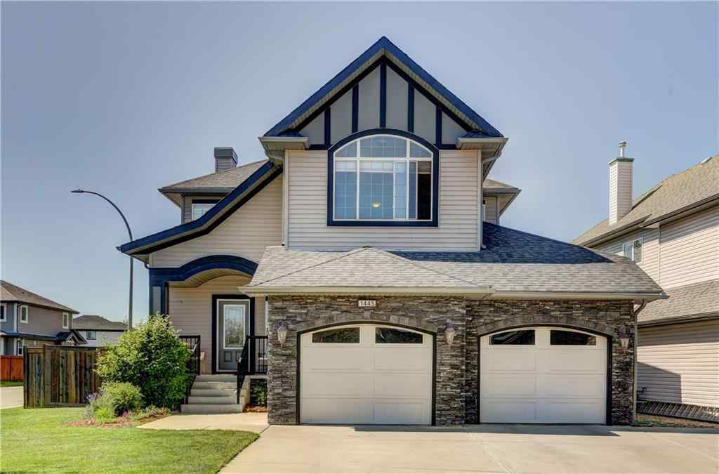 MLS® # A1061236 - 1445 Kings Heights Boulevard SE in Kings Heights Airdrie, Residential Open Houses