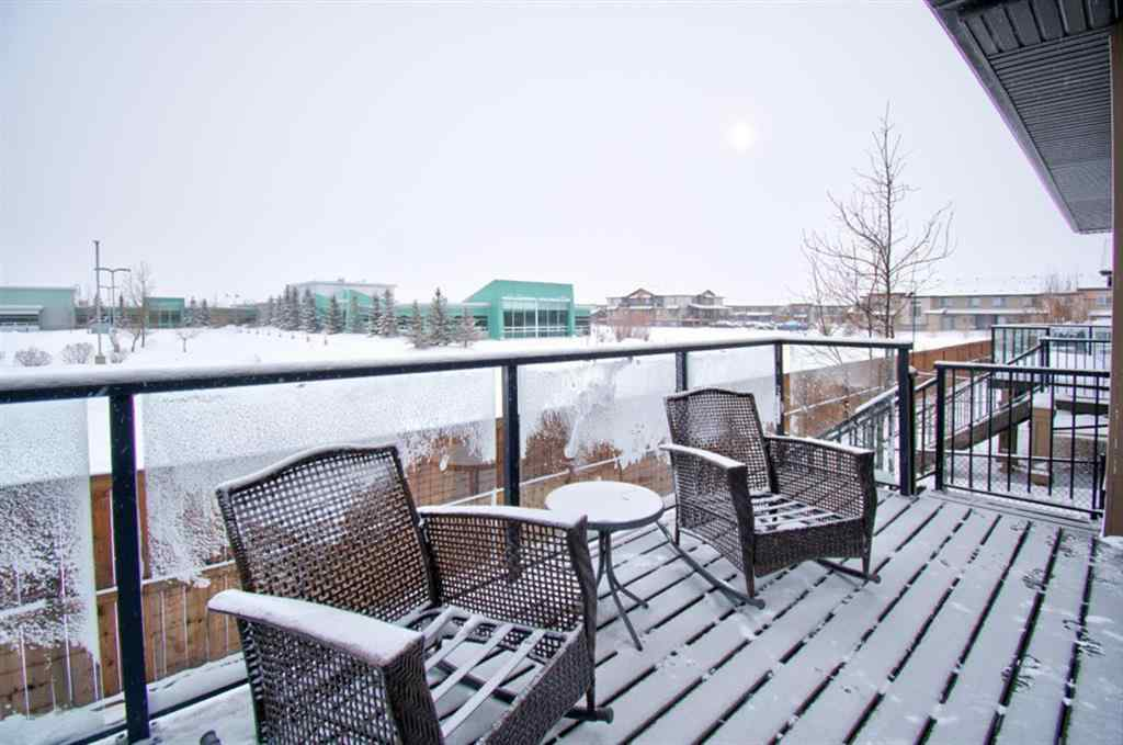 MLS® # A1069506 - Unit #105 300 Chinook Winds Place SW in Prairie Springs Airdrie, Residential Open Houses
