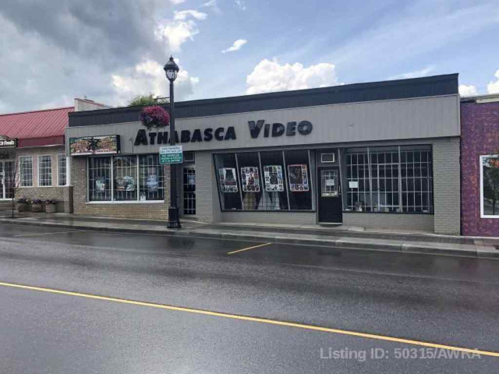 MLS® # AWI50315 - 4913A 49 STREET   in  Athabasca, Commercial Open Houses
