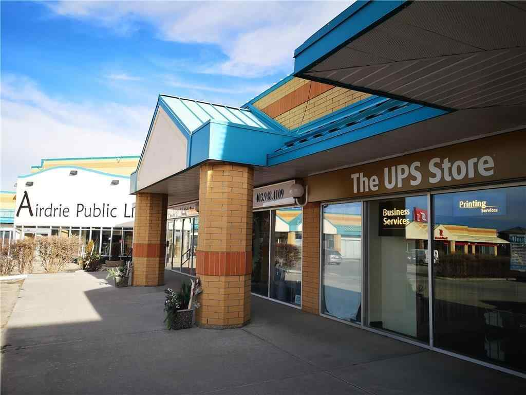 MLS® # C4223148 - Unit #203 304 Main Street SE in Airdrie Meadows Airdrie, Commercial Open Houses