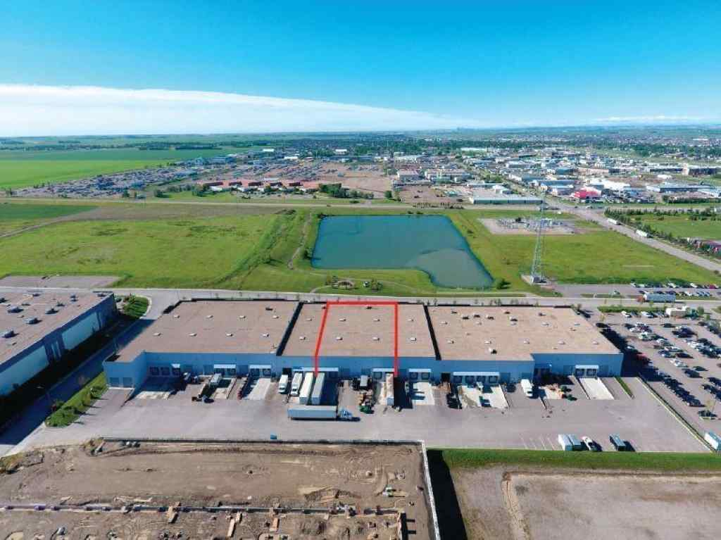 MLS® # C4258851 - Unit #113 18 HIGHLAND PARK Way NE in East Lake Industrial Airdrie, Commercial Open Houses