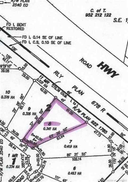 MLS® # CA0158401 - Lot 8 44 Avenue Close  in  Alix, Land Open Houses