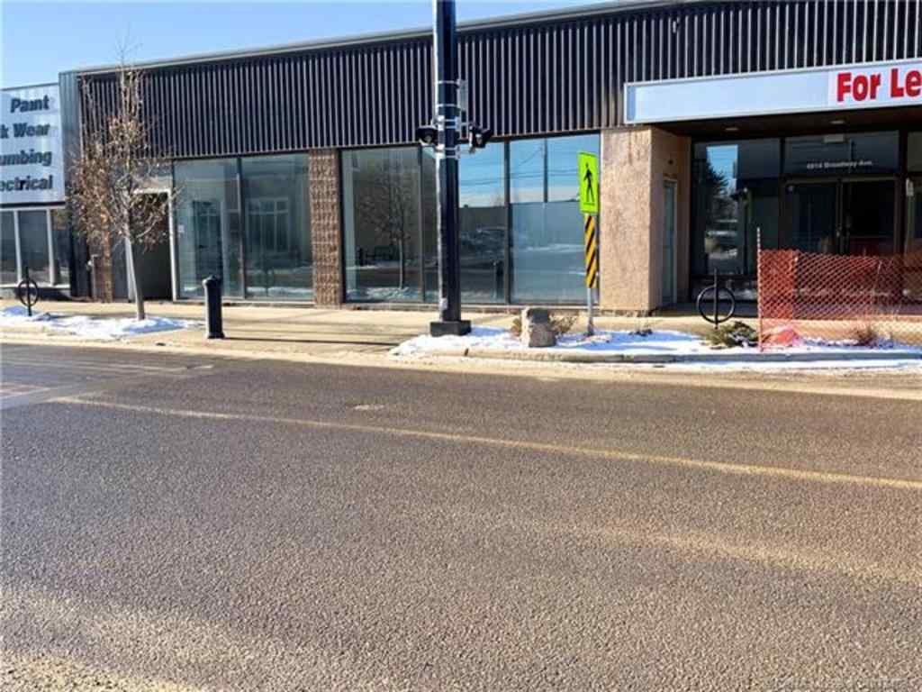 MLS® # CA0188595 - 4914 Broadway Avenue  in Downtown Blackfalds, Commercial Open Houses