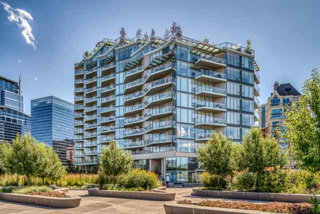 Unit-1307-738 1 Avenue SW in Eau Claire Calgary MLS® #A1015644
