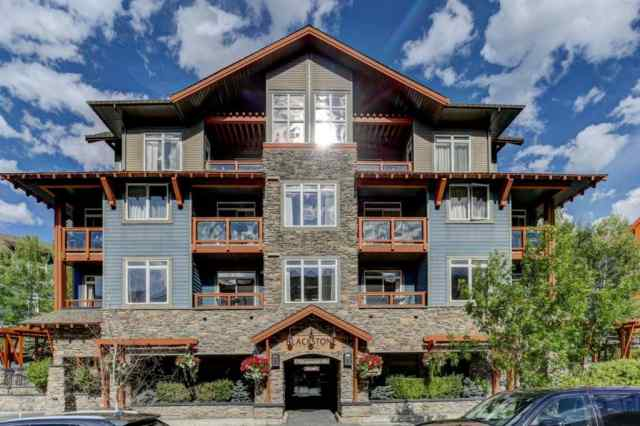 Bow Valley Trail real estate 404, 170 Kananaskis Way in Bow Valley Trail Canmore
