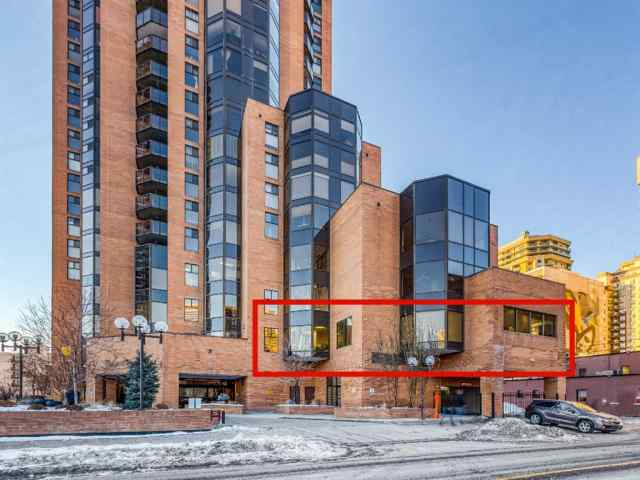 Unit-201-1100 8th Avenue SW in Downtown West End Calgary MLS® #A1057536