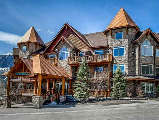 Bow Valley Trail real estate 218, 30 Lincoln Park in Bow Valley Trail Canmore