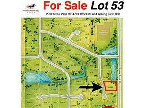 35 Windhorse Gr, Rural Rocky View County, Springbank Land Homes Homes for sale