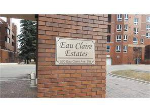 #202f 500 Eau Claire AV Sw, Calgary, Apartment homes