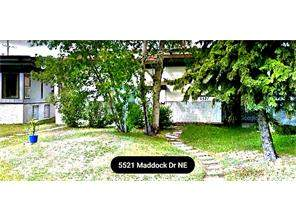 MLS® #C4111361-#a 5521 Maddock DR Ne in Marlborough Park Calgary Attached