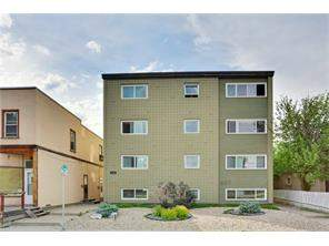 Apartment Sunnyside Homes For Sale at #4 806 2 AV Nw, Calgary MLS® C4117200