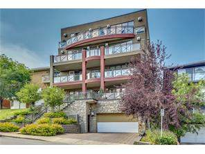 Apartment Lower Mount Royal Real Estate listing at #302 1731 13 ST Sw, Calgary MLS® C4118654