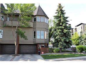 Attached Upper Mount Royal Real Estate listing at 1425 Colborne CR Sw, Calgary MLS® C4118886