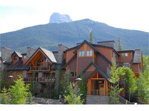 MLS® #C4119935-#1306 101a Stewart Creek Ld in Three Sisters Canmore Apartment