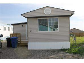 Carstairs Mobile None Real Estate listing 23 Park Rd Carstairs MLS® C4121753