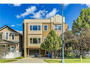 #2 1004 1 AV Nw, Calgary Sunnyside Attached Real Estate: